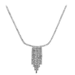 Isla Simone Crystal Seven Row Necklace
