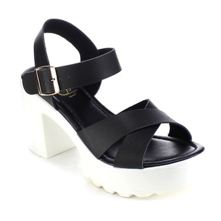 Beston AB22 Women's Lug Sole Chunky Sandals