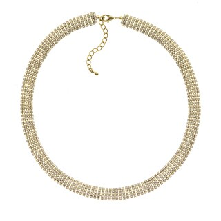 Isla Simone - 10mm Crystal Snake Chain Necklace