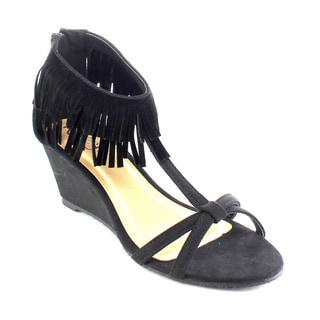 Beston AB20 Women's Fringe Wedges