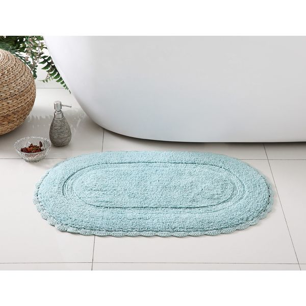 VCNY Crochet 100-percent Cotton Bath Rug