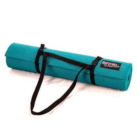 Aeromat Elite Yoga/ Pilates 1/4-inch Thick Mat with Carrying Harness
