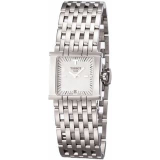 Tissot Womenls T02118181 Six-T White MOP Watch