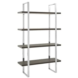 Safavieh Couture High Line Collection Bullock Manchurian Ash Stainless Steel Etagere