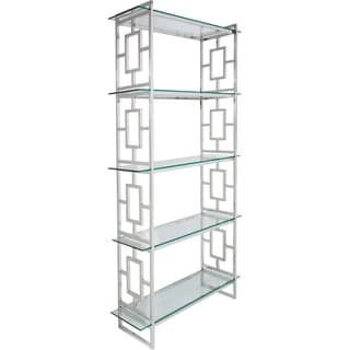 Safavieh Couture High Line Collection Theo Stainless Steel Etagere