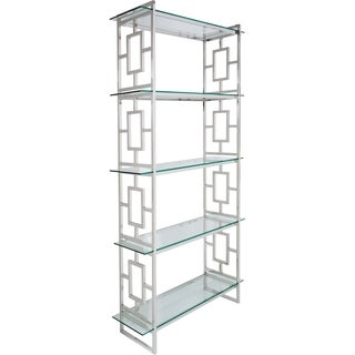 Safavieh Couture Collection Theo Stainless Steel Etagere