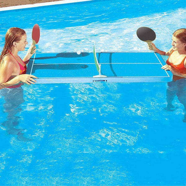 Swimline Floating Swimming Pool Table Tennis Game Free Shipping Today Overstock 18298602