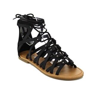 Beston IA20 Women's Strappy Flat Sandals