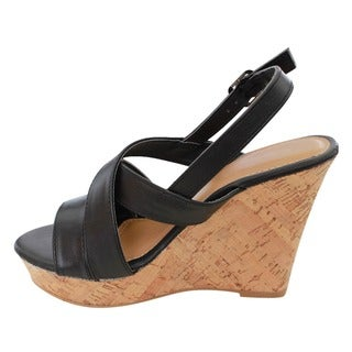 Beston EA83 Women's Slingback Wedge Sandals