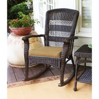 Copper Grove Uinta Dark Roast Plantation Rocking Chair