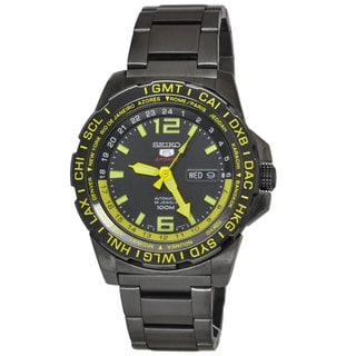 Seiko Men's SRP689K1 5 Sports Black Watch