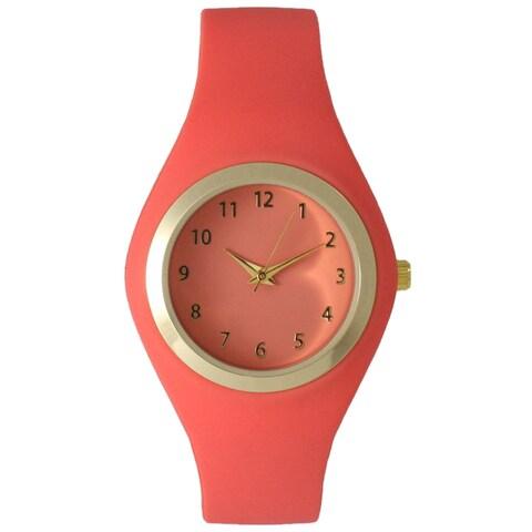 Olivia Pratt Women's Silicone Chic Minimalist Watch