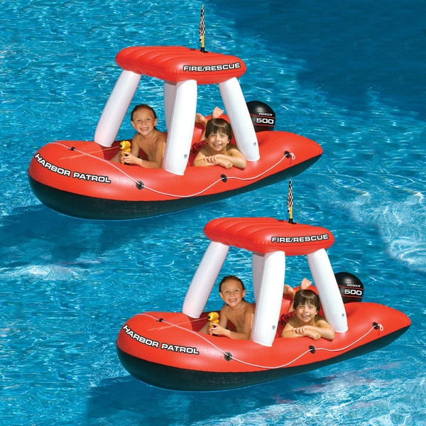 Fire Boat Squirter Pool Toy 2-Pack