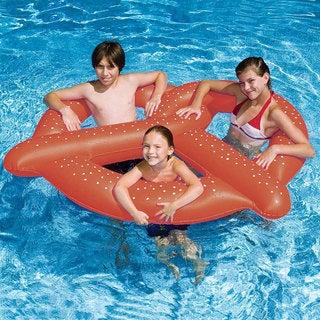 3 Person Giant Pretzel Pool Float 2-Pack