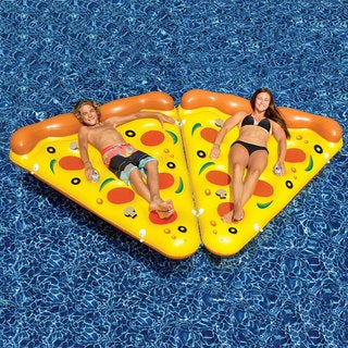 Pizza Slice Pool Float 2-Pack