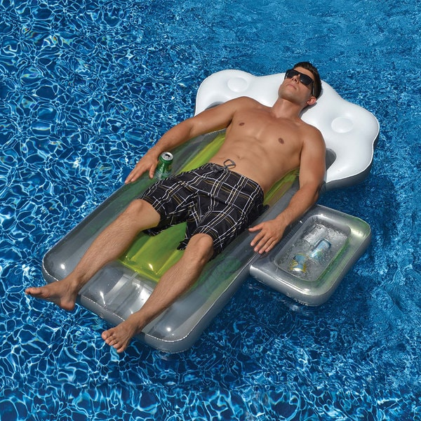 Swimline BeerMug Float Inflatable for Swimming Pools
