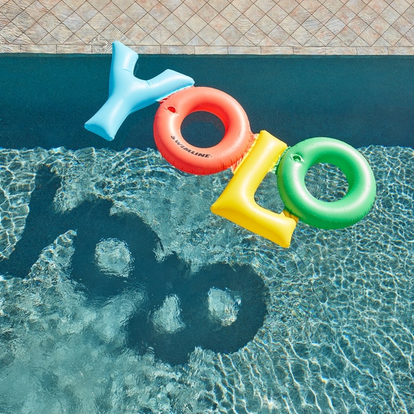 Swimline Yolo Fun Inflatable for Swimming Pools