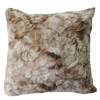 Anna Ricci Brushed Plush 18-inch Throw Pillow