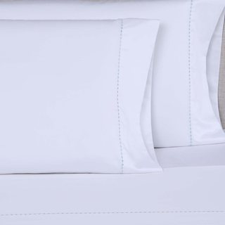 Affluence 600 Thread Count Small Dot Embroidered Sheets