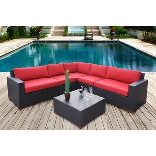 Andover 6-piece Conversation Sectional Seating Set