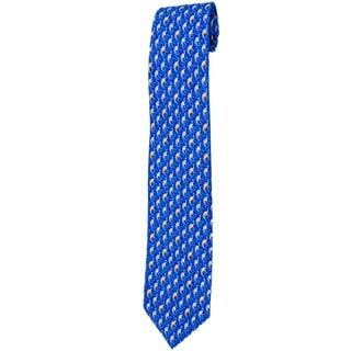Davidoff Blue Twill Silk Neck Tie