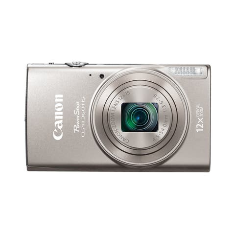 Canon PowerShot 360 HS 20.2 Megapixel Compact Camera - Silver