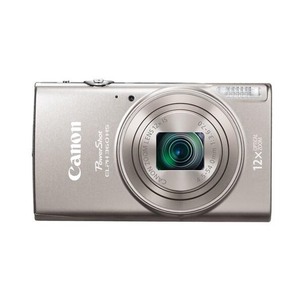 Canon PowerShot 360 HS 20.2 Megapixel Compact Camera - Silver