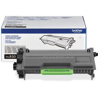 Brother Genuine TN850 High Yield Mono Laser Black Toner Cartridge - Thumbnail 0