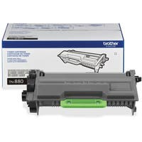 Brother Genuine TN880 Super High Yield Mono Laser Toner Cartridge