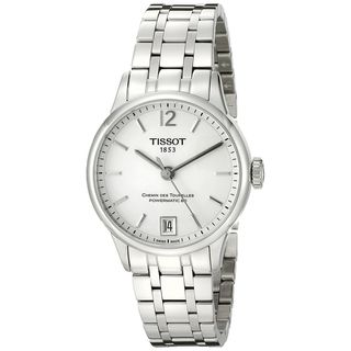 Tissot Women's T0992071103700 'T-Classic Chemin Des Tourelles' Automatic Stainless Steel Watch