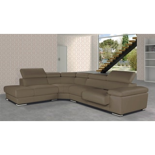 Luca Home LSF Taupe Sectional