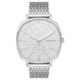 Skagen Women's SKW2402 Rungsted White Dial Silver-Tone Mesh Bracelet Watch