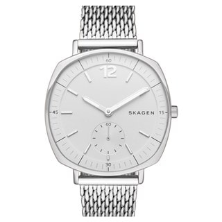 Skagen Women's SKW2402 Rungsted White Dial Silver-Tone Mesh Bracelet Watch