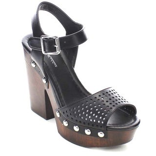 Beston GB50 Women's Platform Buckle Sandals