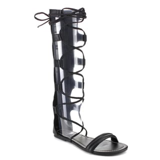 Beston CC50 Women's Lace Up Gladiator Sandals