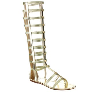 Beston CC49 Women's Gladiator Sandals