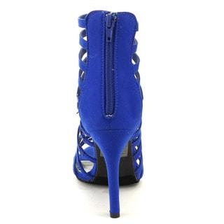 Beston CC44 Women's Caged Heel Sandals