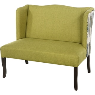 Upholstered Settee 44X29.5X38 inches