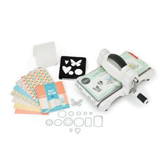 Sizzix Big Shot Starter Kit Grey & White Machine|https://ak1.ostkcdn.com/images/products/11322046/P18299193.jpg?impolicy=medium
