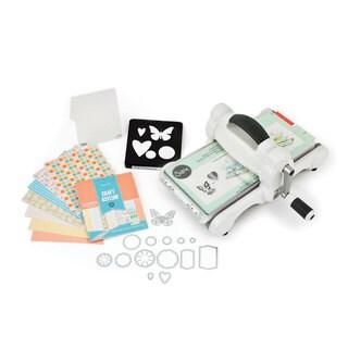 Sizzix Big Shot Starter Kit Grey & White Machine