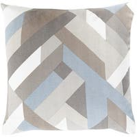 Decorative Altadena 22-inch Feather Down or Polyester Filled Pillow