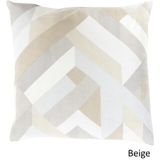 Decorative Altadena 18-inch Feather Down or Polyester Filled Pillow