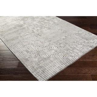 Hand-Woven Fazeley Geometric Viscose Rug (4' x 6')