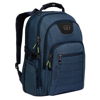 "Ogio Urban Carrying Case (Backpack) for 17"" Notebook - Heathered Blue"