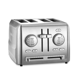 Cuisinart CPT-640 Stainless Steel 4-slice Custom Select Toaster