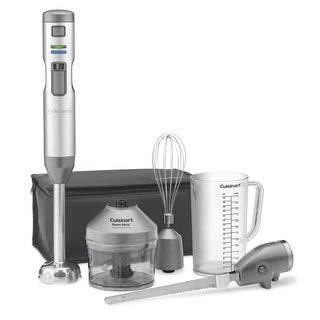 Cuisinart CSB-300 Smart Stick 5-Speed Cordless Hand Blender with Knife