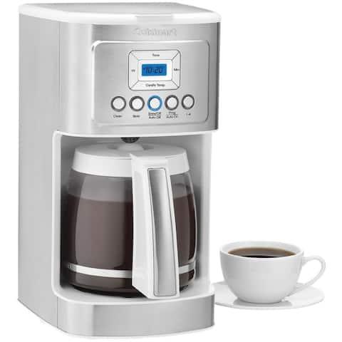 Cuisinart DCC-3200W White 14-cup PerfecTemp Programmable Coffeemaker