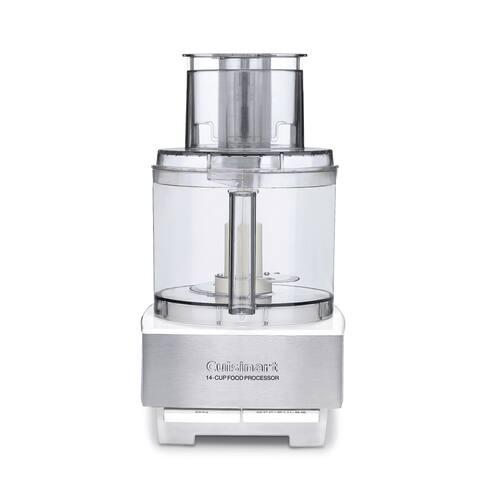 Cuisinart DFP-14BCWNY White 14-Cup Food Processor