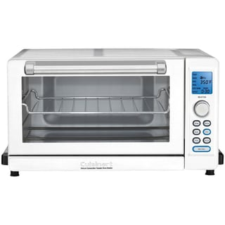 Cuisinart TOB-135W Convection Toaster Oven/Broiler (Stainless Steel/White)