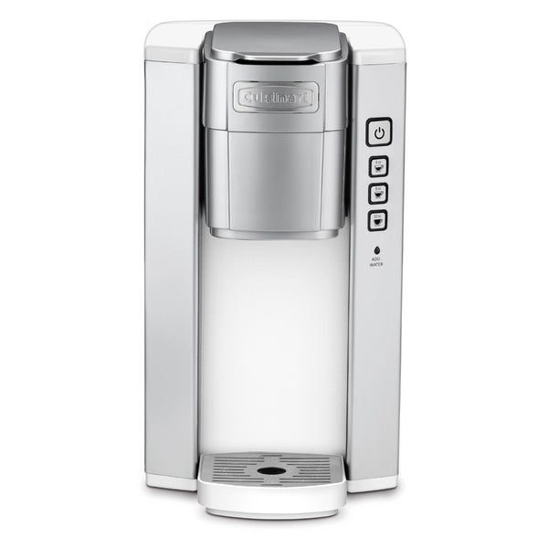 Shop Cuisinart Ss 5w White Compact Single Serve Coffeemaker Free